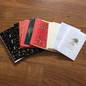 Holiday Christmas card pack various 20